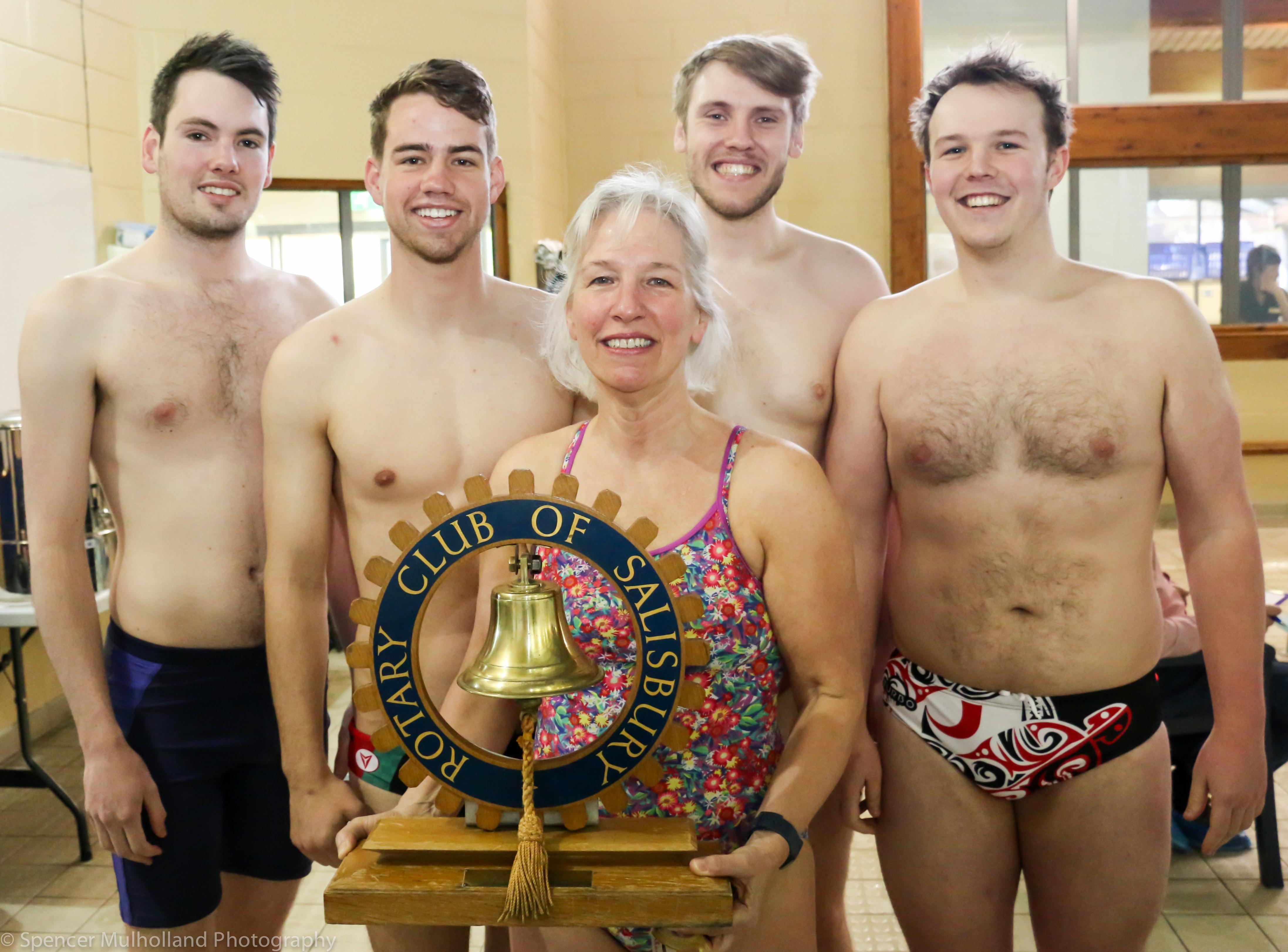 Rotary Club Meeting Swimathon Presentations Salisbury Rotary Club